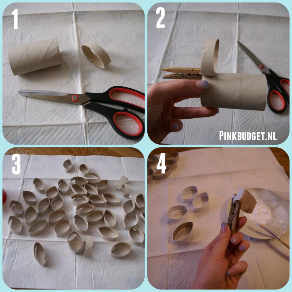 DIY krans 1e stappen