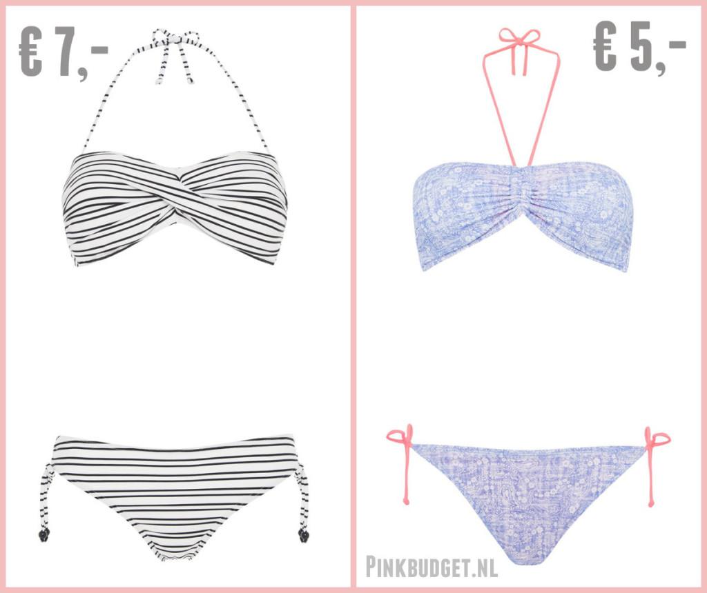 Goedkope bikini's Primark 1