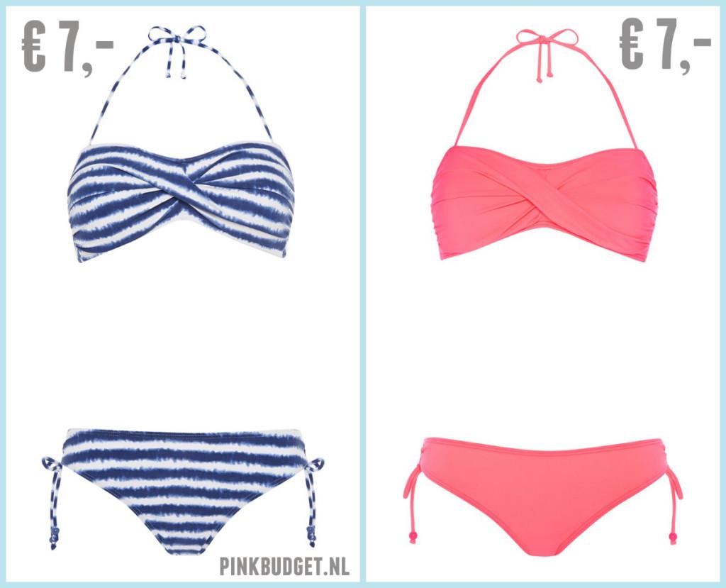 Goedkope bikini's Primark 2