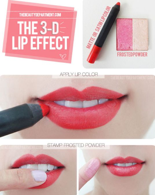 32-Makeup-Tips-That-Nobody-Told-You-About-3d-lip