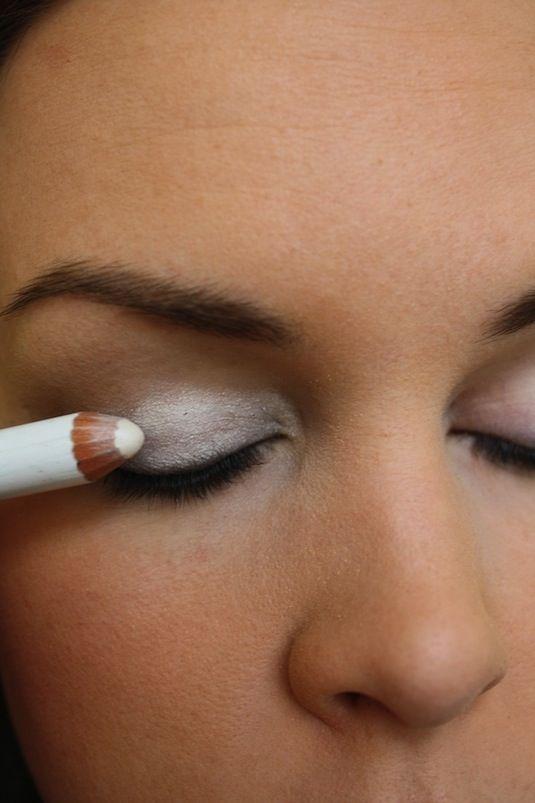 Tip Lichte kleur oogschaaduw