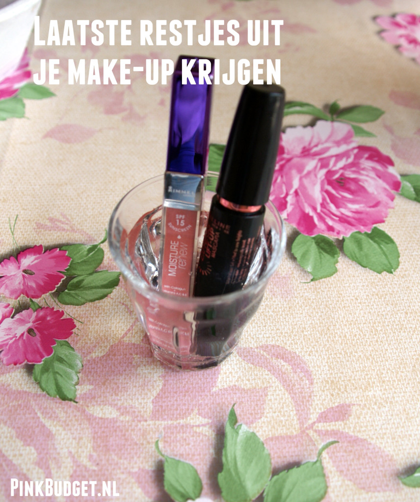 Tip Make-up restjes