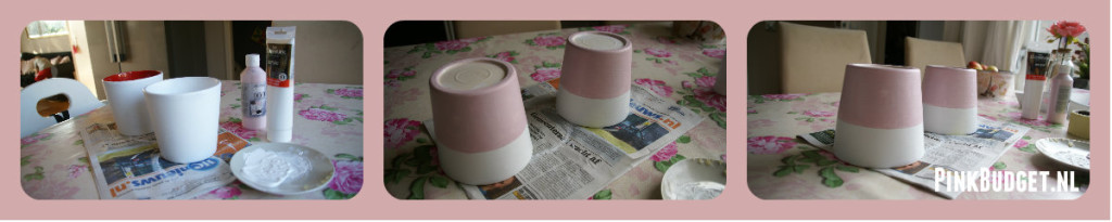 Make-over bloempotjes 2 Pinkbudget