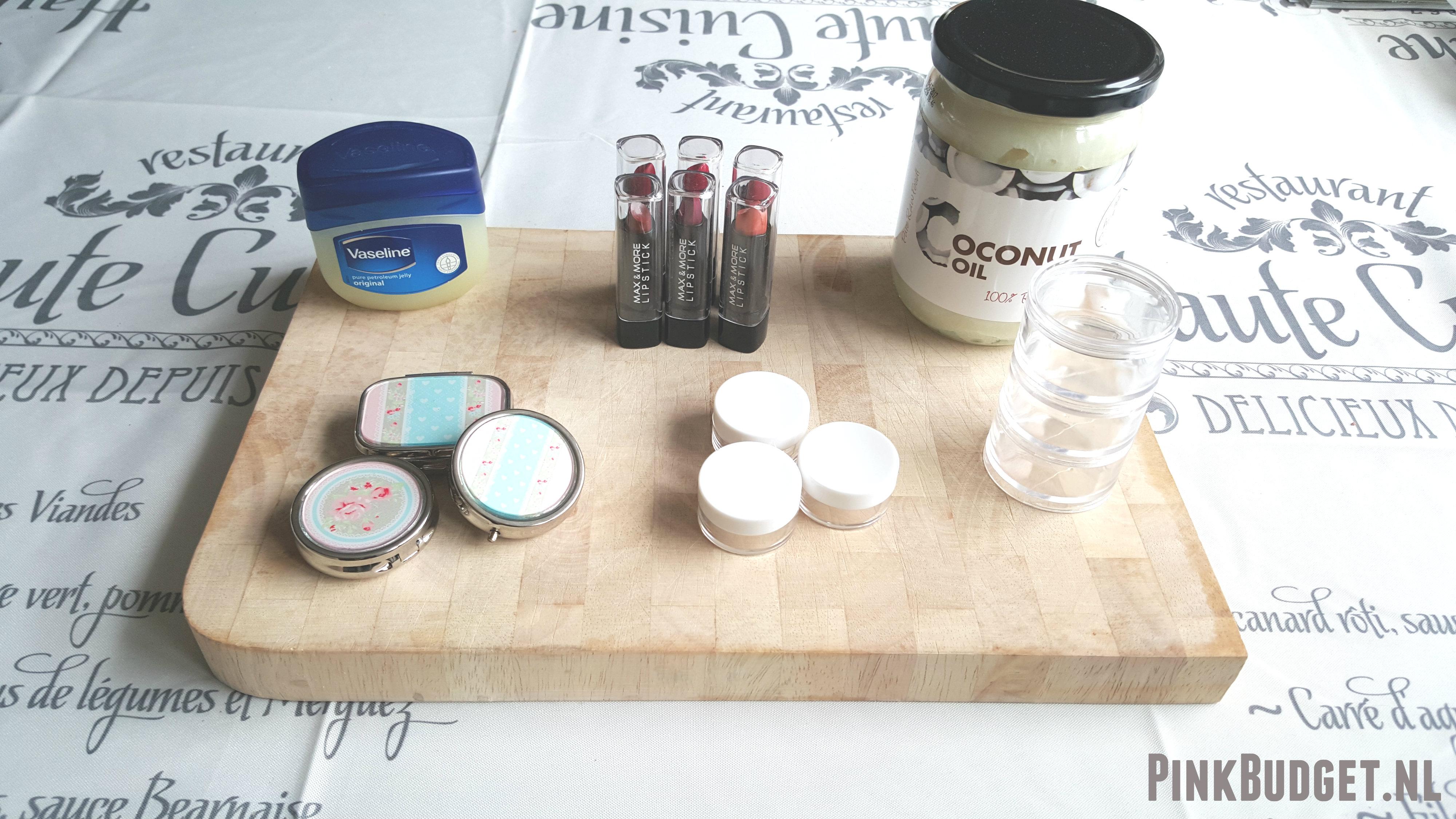 DIY Lip benodigdheden