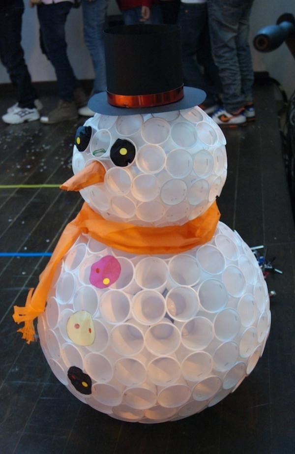 snowman-cups