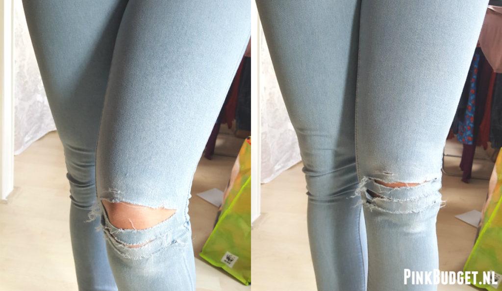Resultaat DIY Ripped Jeans 1