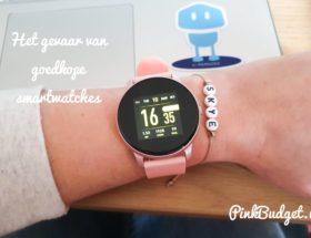 gevaar goedkope smartwatches