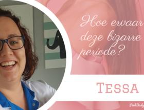 Bizarre situatie Tessa